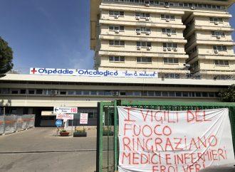 Covid, al Moscati di Taranto un solo paziente in Rianimazione