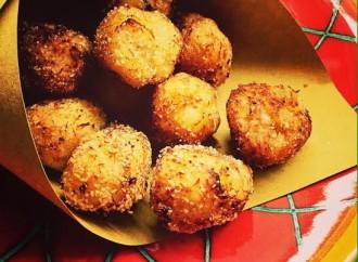 La Ringhiera in cucina: polpette di baccalà