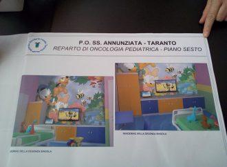 Oncoematologia pediatrica a Taranto, tutto pronto per la consegna