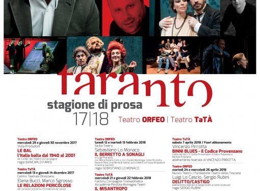 """Teatro, la stagione tarantina da Saviano a Lo Cascio: titoli, date e prezzi <span class=""""dashicons dashicons-calendar""""></span>"""