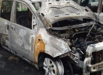 Auto distrutte, notte di fuoco a Taranto