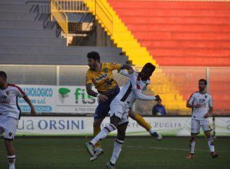 Taranto-Cerignola 2-1, una bella vittoria per i rossoblu di Cazzarò