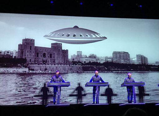 Medimex 2018, delirio Kraftwerk: gli UFO su Taranto