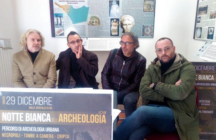 Taranto, Notte bianca dell'Archeologia: storia, arte, spettacolo