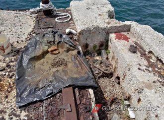 Taranto, tritolo per la pesca di frodo. Sequestro della Guardia Costiera