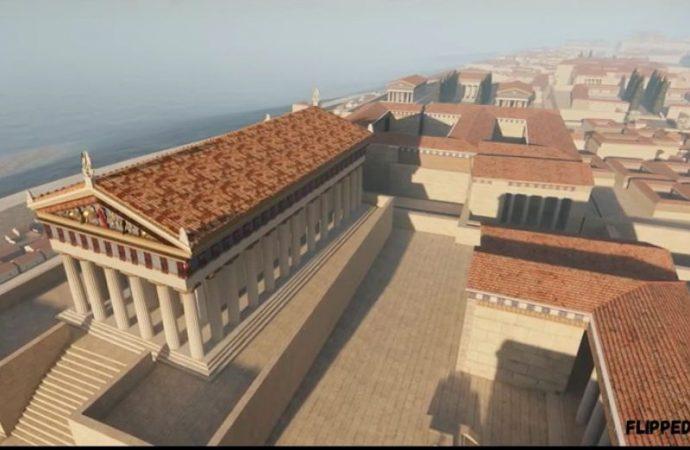 Taranto antica in 3D, il video