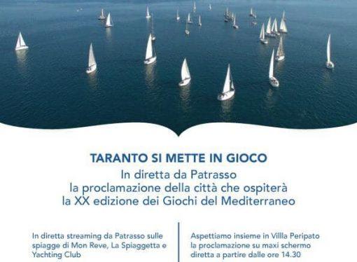 Giochi del Mediterraneo, si decide: la diretta da Patrasso