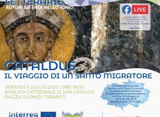 """Cataldus, il Santo migratore tra musica e parole. Evento sul patrono di Taranto <span class=""""dashicons dashicons-calendar""""></span>"""