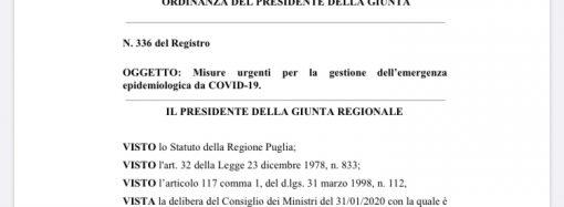 Mascherine all'aperto e discoteche, nuove regole in Puglia