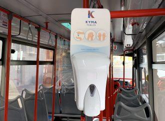 Taranto, sui bus più controllori e gel igienizzante per gli utenti