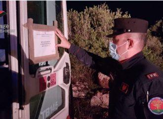 I carabinieri della forestale bloccano lavori sulla litoranea salentina