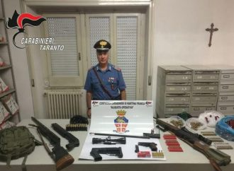Droga e armi, blitz dei carabinieri tra Taranto e Brindisi. 22 indagati