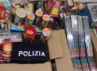 """Taranto, sequestrati """"botti"""" illegali in un furgone"""