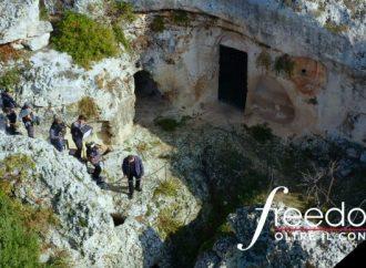 Puglia in Tv, le Grotte di Dio di Mottola e i frantoi del Salento a Freedom-Oltre il confine