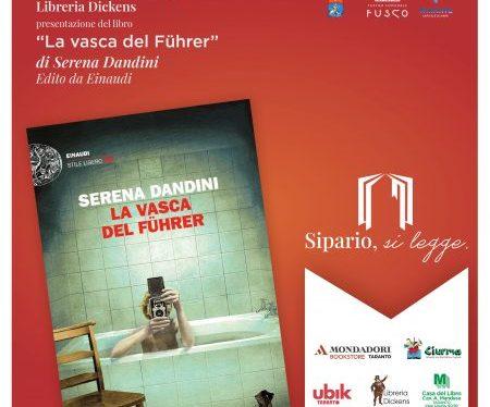 """Taranto, Serena Dandini presenta il suo libro a """"Sipario, si legge"""""""