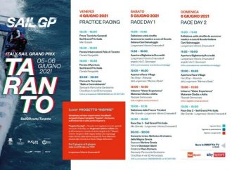 Catamarani, eventi e Frecce Tricolori, il programma di SailGp a Taranto