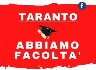 """Università a Taranto, """"Abbiamo Facoltà"""": domani la terza diretta Fb"""