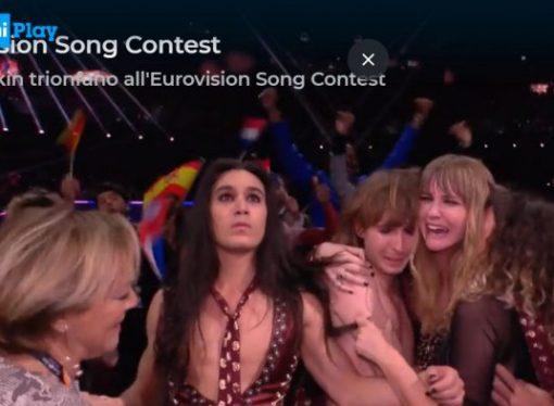 Zitti e buoni, Maneskin vincono l'Eurovision Song Contest 2021