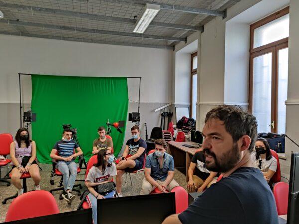 """""""Cine-TA"""", gli studenti del Cabrini di Taranto sul set con Alessandro Zizzo"""