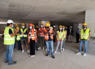 """Taranto, 30 studenti di Architettura e Ingegneria in visita al cantiere del """"San Cataldo"""""""