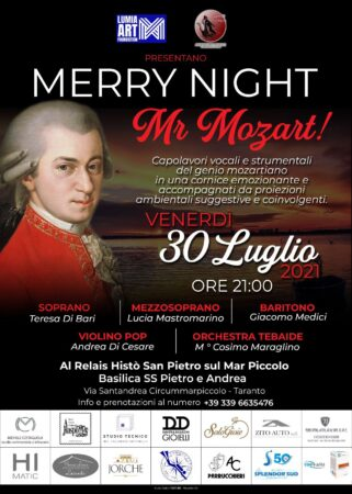 Felice notte, Mr Mozart…