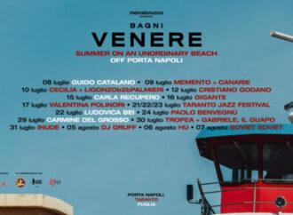 """Musica e teatro, Mercato nuovo presenta la rassegna """"Bagni Venere"""" <span class=""""dashicons dashicons-calendar""""></span>"""