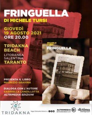 """""""Fringuella"""", il libro di Michele Tursi questa sera al Tridakna Beach <span class=""""dashicons dashicons-calendar""""></span>"""