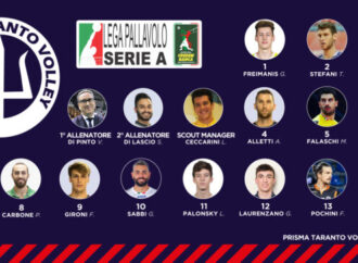 Prisma Taranto Volley, lunedì parte la nuova stagione. Visite e mediche e primi allenamenti