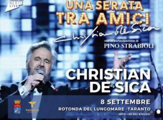 "Taranto, annullato lo spettacolo di De Sica <span class=""dashicons dashicons-calendar""></span>"