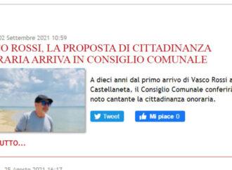 Vasco Rossi cittadino onorario di Castellaneta