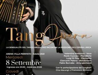 """Taranto Opera Festival, gran finale con il Tango in villa Peripato <span class=""""dashicons dashicons-calendar""""></span>"""