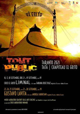 Danza, musica, teatro, letteratura, il Crest porta a Taranto il Circo Contemporaneo
