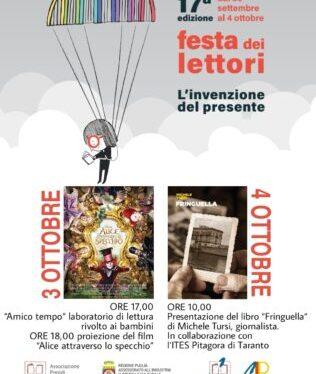 Festa dei Lettori, gran finale alla libreria Mandese di Taranto con gli studenti del Pitagora