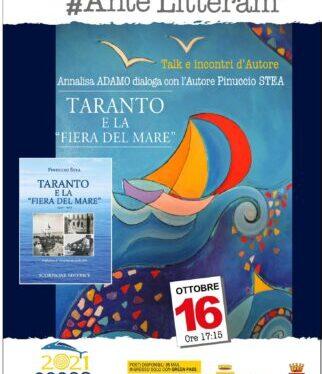 """Taranto e la fiera del Mare, domani il libro di Stea al centro del dibattito <span class=""""dashicons dashicons-calendar""""></span>"""